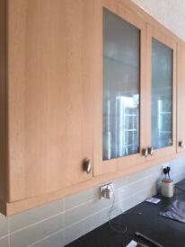 Kitchen Cupboard Door & Drawer Fronts, Beech by Kitchen Elegence, Inc 23 Knobs