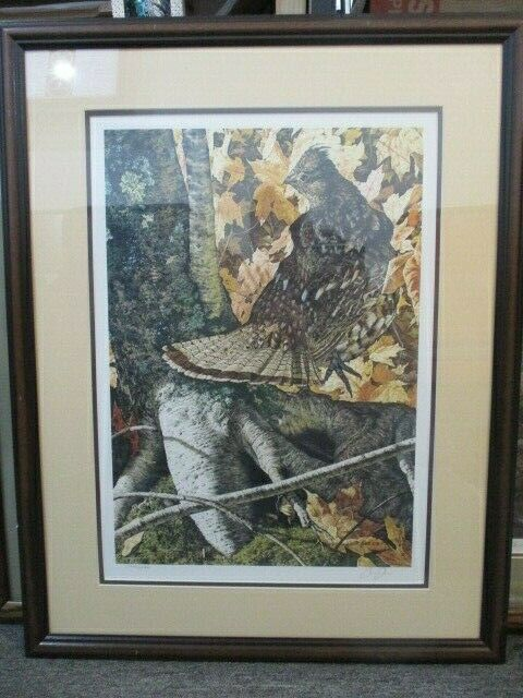 """Framed """"Stepping Out"""" #566/2580 1990 By Brian Jarvi"""