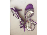 purple sandals size 7