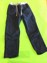 size 7 navy cord pants - in EXCELLENT condition. Morningside Brisbane South East Preview