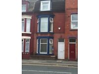 FURNISHED FIVE BEDROOM TERRACE PROPERTY LOCATED ON PICTON ROAD L15 WAVERTREE