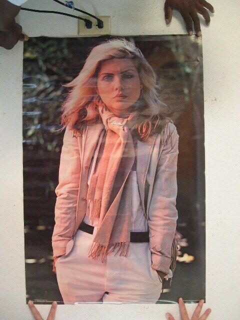 Blondie Poster Deborah Harry Debbie Harry