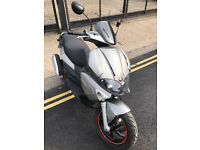 2009 Gilera Runner VX 125 Touring Edition in Grey great condition