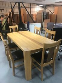 Second Hand Dining Room Table and Chairs
