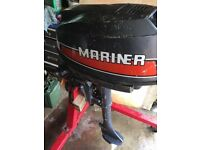 Mariner Air Cooled 5hp outboard engine