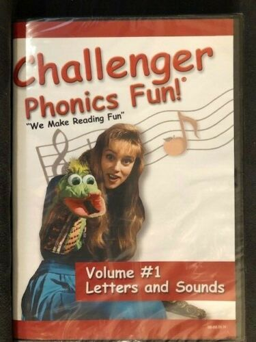 Challenger Phonics Fun Volume 1 Letters and Sounds DVD NEW