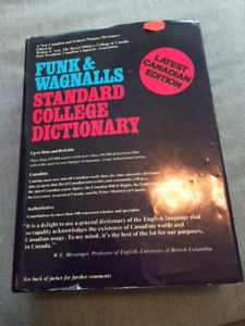 Funk and Wagnalls Standard College Dictionary