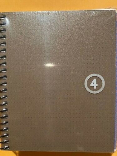 Miquelrius Gray Graph A7 Notebook 3.5x4 - 3/pack