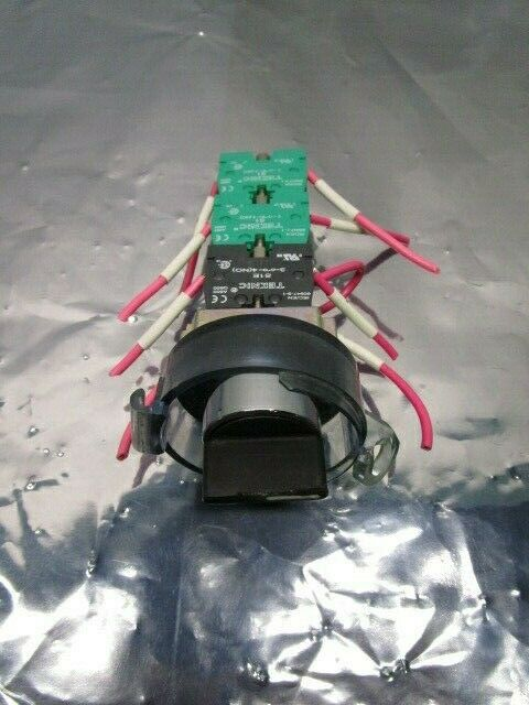 Teknic 60947-5-1 On/Off Switch Assy, S1E, (3) S1 Contact Block, 101134