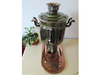 New Copper Enamel Russian Samovar Electric