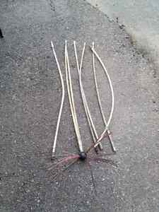 Chimney Cleaning Rods
