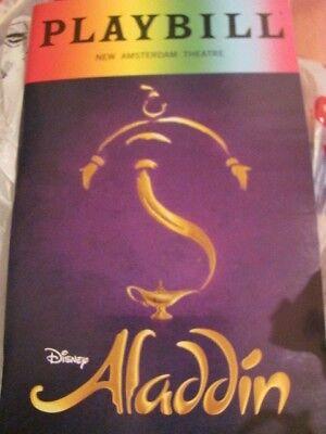 ALADDIN PRIDE Playbill Broadway Musical ARIELLE JACOBS New York