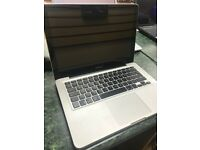 BARGAIN!!! Apple MacBook Pro, Core i5 2.5GHz, 13 inch , 8GB, 500GB SSD, Optical & High Sierra.
