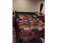 Super King bed with mattress only £80ono