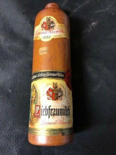 Vintage Leonard Kreusch 1967 German Wine Bottle