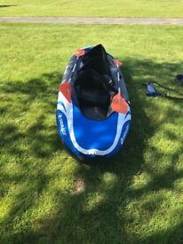 Inflatable Sevylor Hudson Kayak for sale.