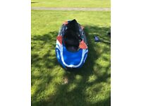 Inflatable Sevylor Hudson Kayak for sale.