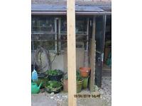 Wooden Porch Post