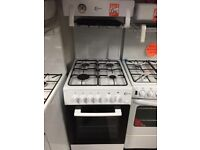 FLAVEL 50CM ALL Gas HIGH LEVEL GRILL Cooker - White