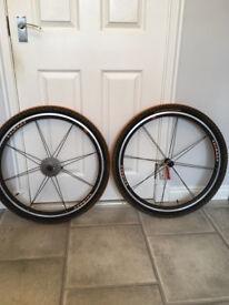Shimano 16 Spoke Brand New Wheels