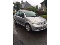 Citroen C3 Cool. 2007, Air Conditioning. 4 x Wheels with Snow tyres included in price.
