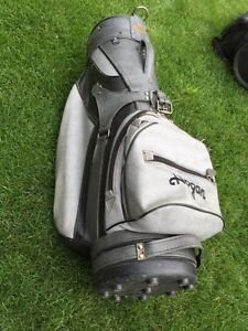 Leather Golf Bag $75.00 OBO