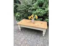 Solid Pine coffee table - The Old Creamery