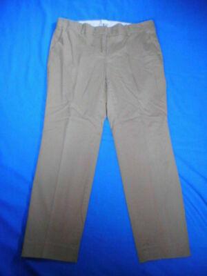 "Womens Pants-J.CREW-lt brown ""cafe capri"" cotton blend cropped-6"