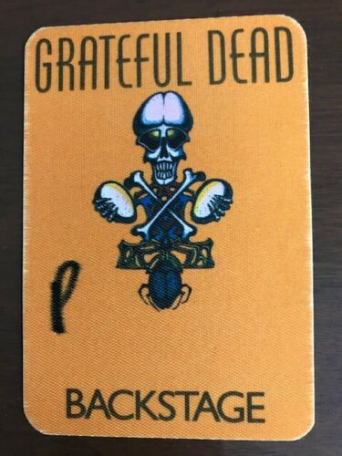Grateful Dead - 1985 backstage pass Philly
