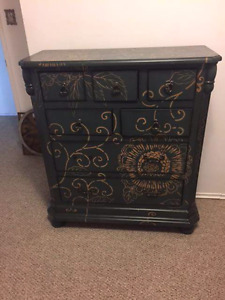 Gorgeous detailed dresser and side table from the brick**