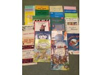 Large selection of music books