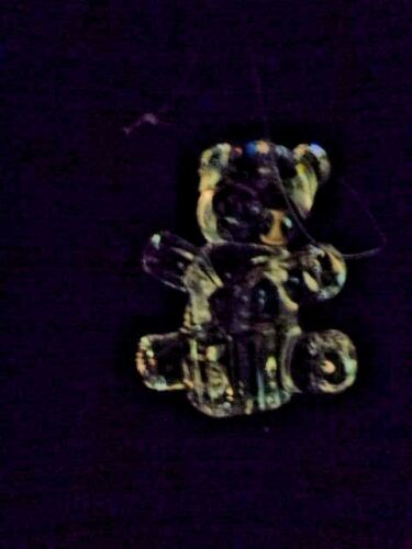 Waterford Crystal 100th Anniversary Teddy Bear Ornament Marquis Germany Sweet