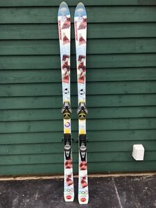 Coca Cola Skis and Binding