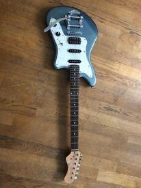 Stunning Eko Camaro guitar in pristine condition in most desired, Camaro Blue. (With original tag)