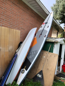 """Red Paddle Co 14' X 25""""; Race ELITE MSL SUP Mint Condition"""