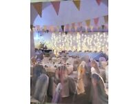 Pastel bunting and extras
