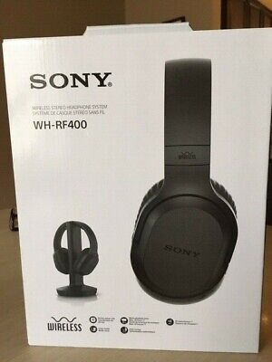 Sony WH-RF400 Wireless Home Theater Headphones - Black