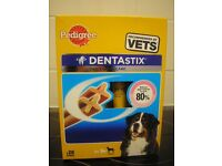 BNIB Pedigree DentaStix Dog Chews for Large Dog 28 pk