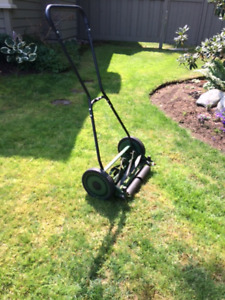 Lee Valley Push Mower