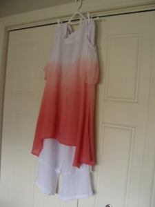 Top and Palazzo pants worn only once  like new