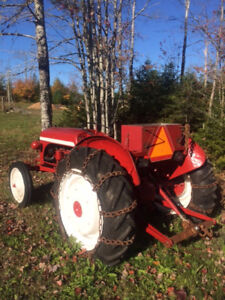 Ford 8N Tractor with Plow Attachment