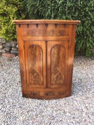 Antique Victorian  Corner Cupboard