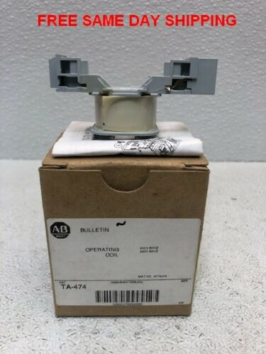 ALLEN BRADLEY OPERATING COIL TA-474 ITEM 748267-O2