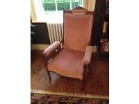 Edwardian armchair for sale