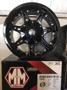 """18"""" Mayhem Missile Alloy Wheels ON SALE for RAM and Tundras"""