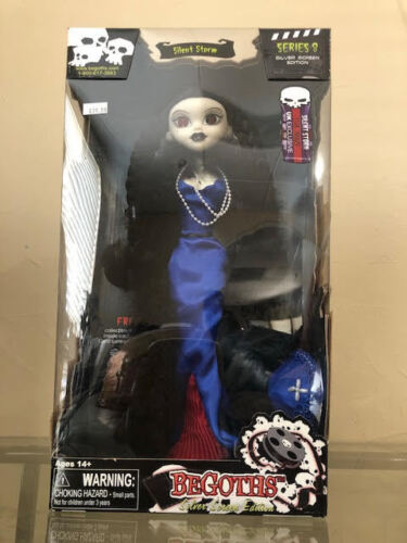 Silent Storm Begoths Doll Series 9 - UK exclusive blue outfit