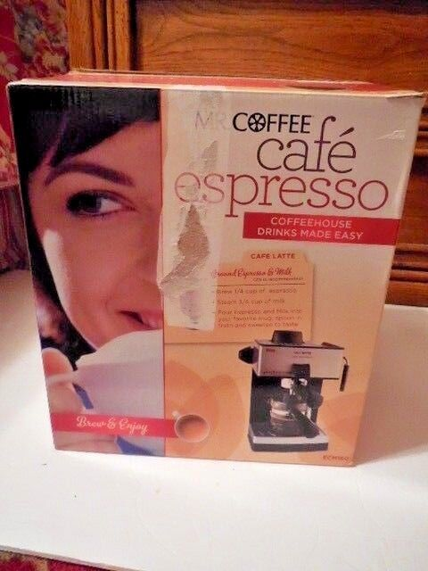 4-Cup Steam Espresso Maker Coffee Machine Expresso Milk Frot