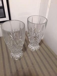 cut chrystal vase
