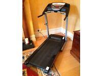 Top of the range treadmill, T941 Horizon, little used .