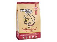 Barking Heads 'Senior Golden Years' Dry Dog Food 12kg - Chicken, Trout & salmon
